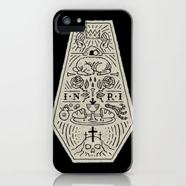 Death is Defeated iPhone Case