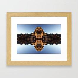 Rattlesnake Framed Art Print