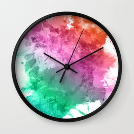 infusions Wall Clock