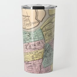 Vintage Map of Dayton Ohio (1872) Travel Mug