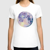 the moon T-shirts featuring Moon by Marta Olga Klara