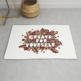 Create For Yourself (2) Rug