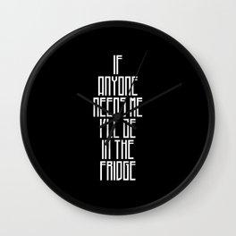 In The Fridge Wall Clock