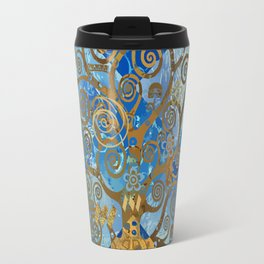 Klimt Tree Travel Mug