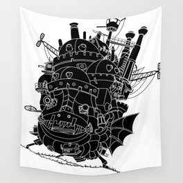 Howl's moving castle. Wall Tapestry