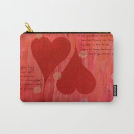 It's all about LOVE Carry-All Pouch