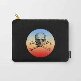 Skull & Bones Retro Style Carry-All Pouch