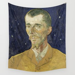 Eugene Boch by Vincent van Gogh Wall Tapestry