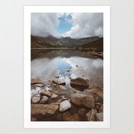 Mountain Lake - Landscape and Nature Photography Art Print