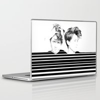 tegan and sara Laptop & iPad Skins featuring Tegan & Sara by MeMRB