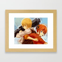 GINTAMA-okikagu Framed Art Print