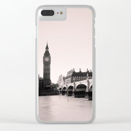 The Spirit Of London Clear iPhone Case