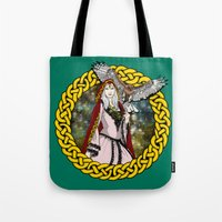 goddess Tote Bags featuring Goddess by Astrablink7