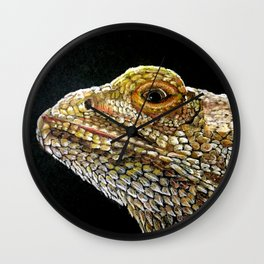 Bearded Dragon Wall Clock