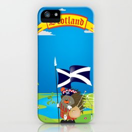Greetings from Scotland iPhone Case