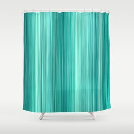 Ambient 5 Teal Shower Curtain