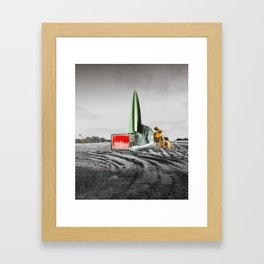 atmosphere · es ist gesäht Framed Art Print