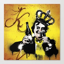 King Floyd  Canvas Print