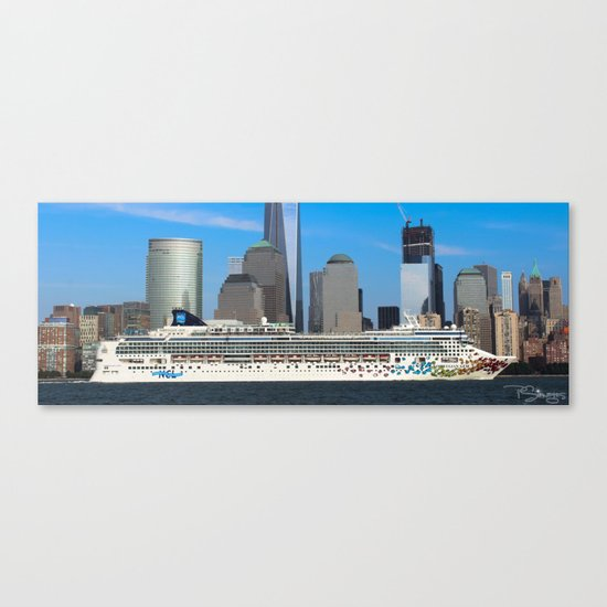 Norwegian Gem Canvas Print