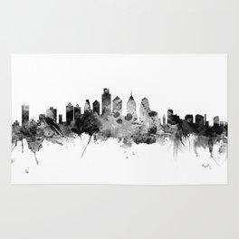 Philadelphia Pennsylvania Skyline Rug