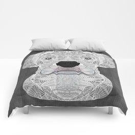 White Boxer Comforters