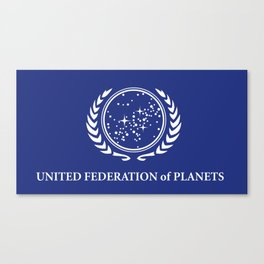 United Fed of Planets Canvas Print