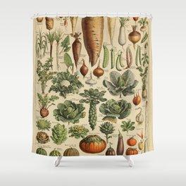 legume et plante potageres Shower Curtain