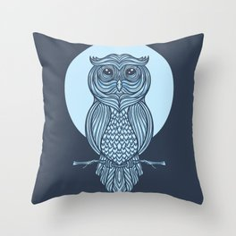 Night Owl Alternate Throw Pillow