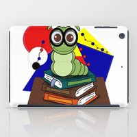 bookworm iPad Cases featuring Bookworm 2 by Charles Oliver