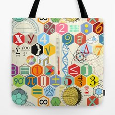 Math in color Tote Bag