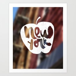 New York: The Big Apple Art Print