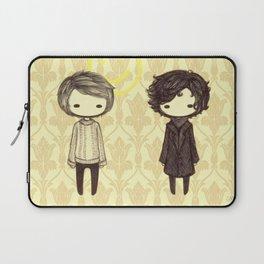 Sherlock and John Chibis Laptop Sleeve