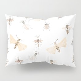 Insects and Bugs Pattern Pillow Sham