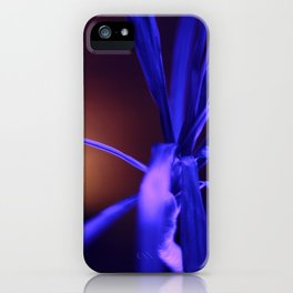 Plant in Luminescence, Fluorescence, Neon light iPhone Case