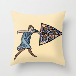 Arrow Man Merton College Collection Proverbs P F.16V Throw Pillow