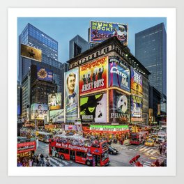 Times Square III Special Edition I Art Print