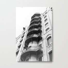Warehouse District Architecture Hamburg Metal Print