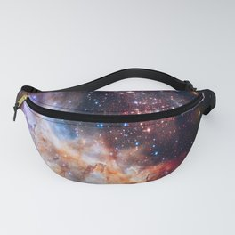picture of star by hubble: celestial firework Fanny Pack