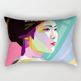 GEISHA WPAP Rectangular Pillow