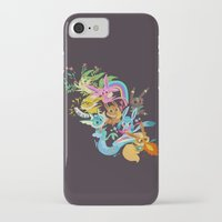 eevee iPhone & iPod Cases featuring Eevee Band by tinysnails