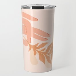 Abstraction_NAMASTE_LOVE_Minimalism_001 Travel Mug