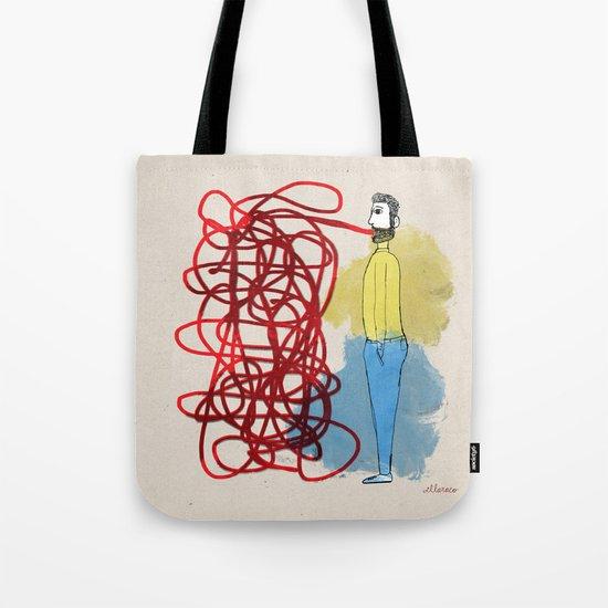 Something hard to say Tote Bag