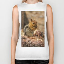 The Squirrel and the Redwood Biker Tank