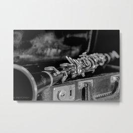 CLARINET CLASSIC Metal Print