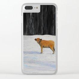 Kylee's Kenyon Calf Clear iPhone Case