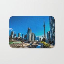 Downtown Toronto View Bath Mat