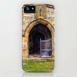 Holy Trinity Church, Wensley iPhone Case