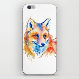 Cute Fox Head iPhone Skin