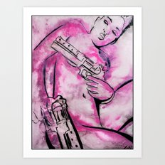 Caliber Love #3 Art Print