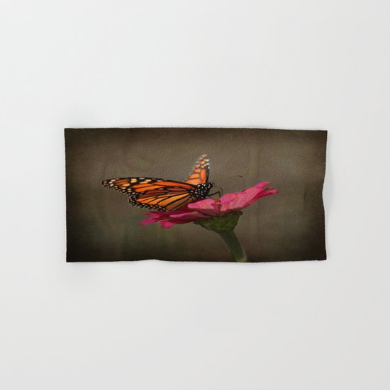 Prefect Landing - Monarch Butterfly Hand & Bath Towel